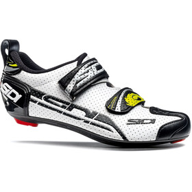 Sidi T-4 Air Carbon Shoes Herre white/black